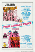 "Movie Posters:Comedy, Revenge of the Pink Panther/The Pink Panther Strikes Again Combo (United Artists, R-1979). One Sheet (27"" X 41""). Comedy.. ..."