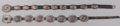 American Indian Art:Jewelry and Silverwork, Two Navajo Concho Belts. c. 1970... (Total: 2 Items)
