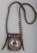 American Indian Art:Jewelry and Silverwork, A Navajo Medicine Pouch. c. 1960. ...
