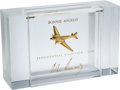 Political:Presidential Relics, John F. Kennedy: Rare Lucite Cigarette Box from the 1960 Election....