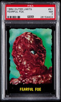 "Non-Sport Cards:Singles (Post-1950), 1964 Topps Outer Limits ""Fearful Foe"" #41 PSA NM 7...."