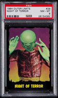 "Non-Sport Cards:Singles (Post-1950), 1964 Topps Outer Limits ""Night of Terror"" #29 PSA NM-MT 8. ..."