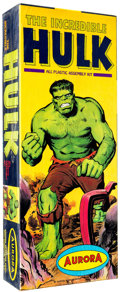 Memorabilia:Science Fiction, Incredible Hulk Model Kit (Aurora, 1966)....