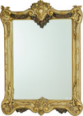 Decorative Arts, Continental, An Italian Rococo-Style Polychrome Painted Wood Frame, 20thcentury. 36-1/2 inches high x 26 inches wide (92.7 x 66.0 cm). ...