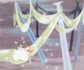 Animation Art:Concept Art, Mary Blair Cinderella Concept Art (Walt Disney, 1950)....