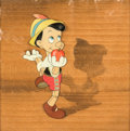 Animation Art:Production Cel, Pinocchio Production Cel Courvoisier Setup (Walt Disney,1940)....
