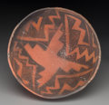American Indian Art:Pottery, An Anasazi Black-On-Red Bowl...