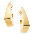 Estate Jewelry:Earrings, Gold Earrings, Michael Sugarman. . ... (Total: 2 Items)
