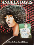 """Movie Posters:Foreign, Angela Davis, L'enchaînement (Stand'Art, 1977). French Affiche (22.25"""" X 30""""). Foreign.. ..."""