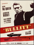 "Movie Posters:Crime, Bullitt (Solaris Distribution, R-2006). French Petite (15.75"" X20.75""). Crime.. ..."