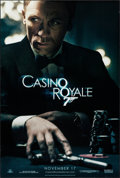 "Movie Posters:James Bond, Casino Royale (MGM, 2006). One Sheet (26.75"" X 39.75"") DS Advance. James Bond.. ..."