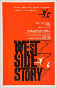 "West Side Story (United Artists, 1961). One Sheet (27"" X 41""). Academy Award Winners"