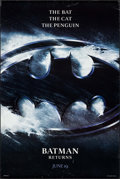 """Movie Posters:Action, Batman Returns (Warner Brothers, 1992). One Sheet (27"""" X 40.25"""").Action.. ..."""