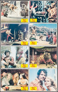 """Movie Posters:Fantasy, Sinbad and the Eye of the Tiger (Columbia, 1977). Lobby Card Set of8 (11"""" X 14""""). Fantasy.. ... (Total: 8 Items)"""