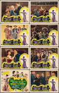 """Movie Posters:Musical, Belle of the Yukon (RKO, 1944). Lobby Card Set of 8 (11"""" X 14""""). Musical.. ..."""