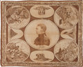 Political:Textile Display (pre-1896), Zachary Taylor: One of the Nicest Bandana Designs for the 1848 WhigPresidential Candidate....