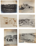 Western Expansion:Indian Artifacts, New Mexico Indian Photos: Group Lot of Seventeen. ...