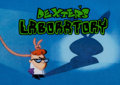Animation Art:Production Cel, Dexter's Laboratory Title Production Cel(Hanna-Barbera/Cartoon Network, 1996)....