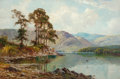 Fine Art - Painting, European:Other , Alfred Fontville de Bréanski (British, 1877-1955). Friar's Crag,Derwentwater. Oil on canvas. 24 x 36 inches (61.0 x 91....