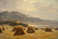 Fine Art - Painting, European:Antique  (Pre 1900), Duncan Cameron (British, 1841-1930). A Highland harvest. Oilon canvas. 20 x 30-1/4 inches (50.8 x 76.8 cm). Signed lowe...