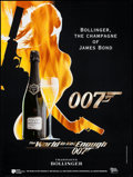 "Movie Posters:James Bond, James Bond/Bollinger Champagne & Other Lot (1999). Tie-InAdvertising Posters (2) (23.5"" X 31.5"" & 22"" X 33""). JamesBond.. ... (Total: 2 Items)"