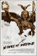 "Movie Posters:Fantasy, Wings of Desire (Orion, 1988 & Filmverlag der Autoren, R-1993). One Sheet (26.75"" X 40"") & German A1 (23"" X 33""). Fantasy.. ... (Total: 2 Items)"