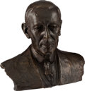 Political:3D & Other Display (1896-present), Woodrow Wilson: Bronze Bust by Davidson....