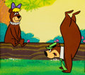 Animation Art:Color Model, Yogi Bear Color Model Cel (Hanna-Barbera, 1988).... (Total: 2Items)
