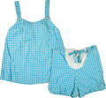 Political:Presidential Relics, Jacqueline Kennedy: A Two-piece Maternity Outfit of Shorts and Top....