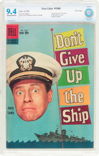 Four Color #1049 Don't Give Up the Ship - File Copy (Dell, 1959) CBCS NM 9.4 Off-white to white pages