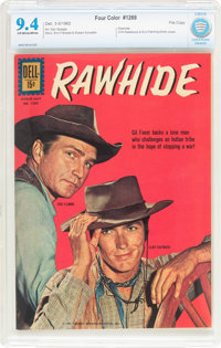 Four Color #1269 Rawhide - File Copy (Dell, 1962) CBCS NM 9.4 Off-white to white pages