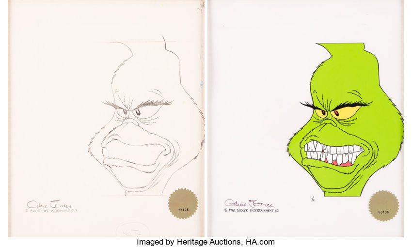 animation artproduction drawing doctor seuss how the grinch stole christmas animationdrawing and - How The Grinch Stole Christmas Animated