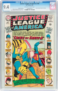 Justice League of America #38 (DC, 1965) CGC NM 9.4 Off-white to white pages