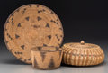 American Indian Art:Baskets, Three Ethnographic Baskets... (Total: 3 Items)