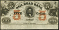 Obsoletes By State:Michigan, Adrian, MI- Erie and Kalamazoo Rail Road Bank $5 Aug. 1, 1853 Remainder. ...