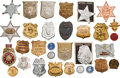 Entertainment Collectibles:TV & Radio, Pop Culture: Assorted Novelty Badges....