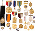Militaria:Insignia, Assorted Gold Medals, Awards and Badges....