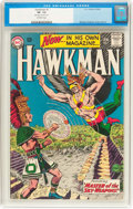 Silver Age (1956-1969):Superhero, Hawkman #1 (DC, 1964) CGC VF- 7.5 Off-white pages....