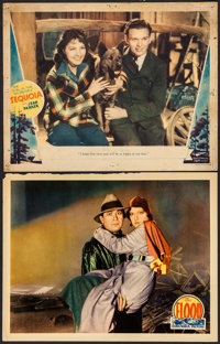"""The Flood & Other Lot (Columbia, 1931). Lobby Cards (2) (11"""" X 14""""). Drama. ... (Total: 2 Items)"""