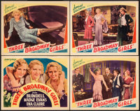 """The Greeks had a Word for Them (Atlantic Pictures, R-1938). Title Lobby Card & Lobby Cards (3) (11"""" X 14"""")..."""