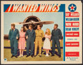 "Movie Posters:War, I Wanted Wings (Paramount, 1941). Lobby Card (11"" X 14""). War.. ..."