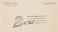 Autographs:U.S. Presidents, Gerald R. Ford: An Exceedingly Rare Free Franked EnvelopePostmarked the Day He Became President....