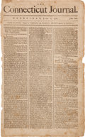 Miscellaneous:Newspaper, George Washington and the Society of the Cincinnati....