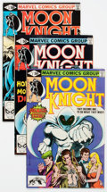 Modern Age (1980-Present):Superhero, Moon Knight #1-37 Group (Marvel, 1980-84) Condition: AverageFN/VF.... (Total: 37 Comic Books)