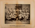 Baseball Collectibles:Photos, 1896 Baltimore Orioles Imperial Size Vintage Photograph withMcGraw, Keeler, Jennings & Hanlon. ...