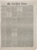 Political:3D & Other Display (pre-1896), . [Gettysburg Address]: New-York Times, November 20, 1863....