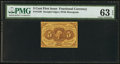 Fractional Currency:First Issue, Fr. 1230 5¢ First Issue PMG Choice Uncirculated 63 EPQ.. ...