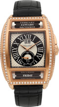 Estate Jewelry:Watches, Maitres du Temps Gentleman's Diamond, Gold Chapter Two Watch. ...