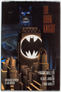 Frank Miller Batman: The Dark Knight Returns Signed Hardcover Limited Edition (DC/Graphitti, 1986) Condition: VF+