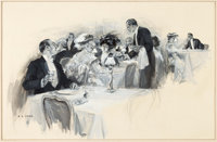 Frederick Coffay Yohn The Butler's Story and One Other Illustration Original Art Group of 2 (1909-13).... (Total: 2 Orig...
